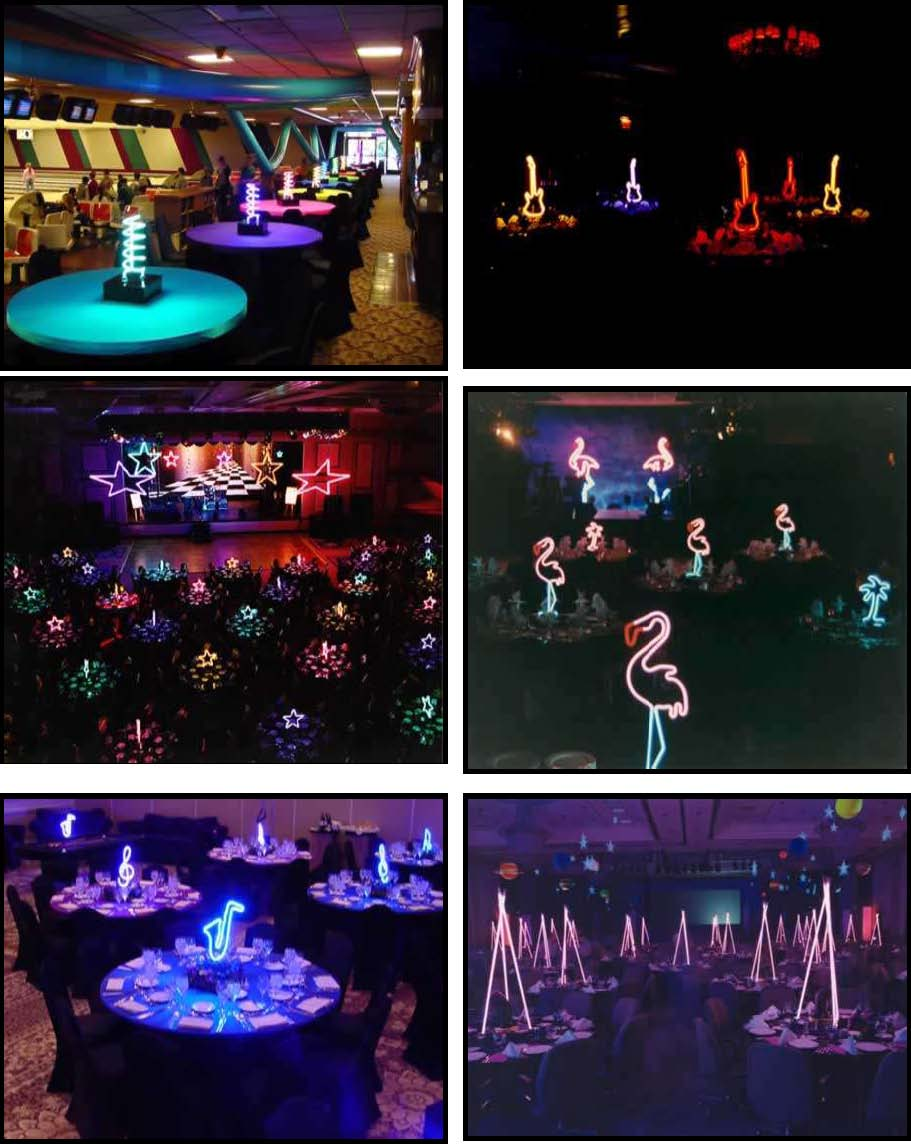 neon centerpiece products