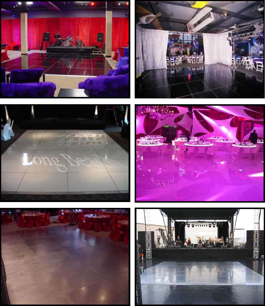 Props & Products Dance Floors