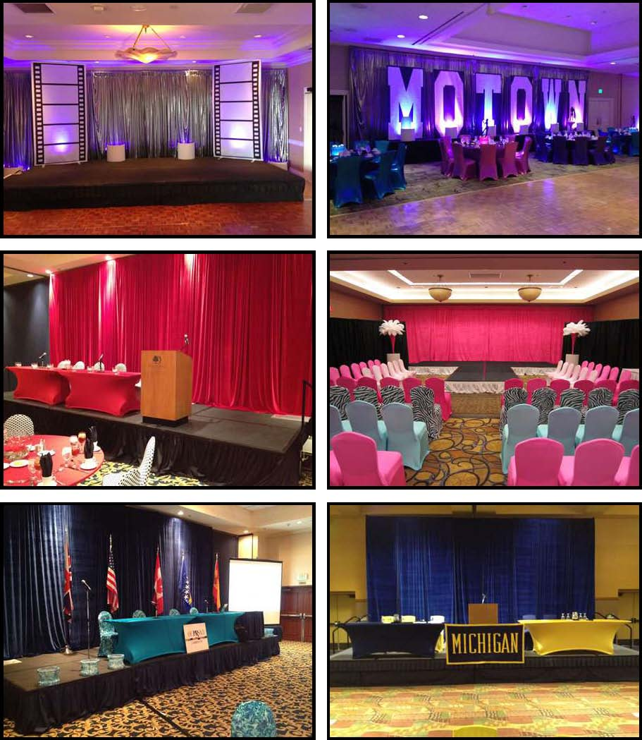 Props & Products Stage - Drape